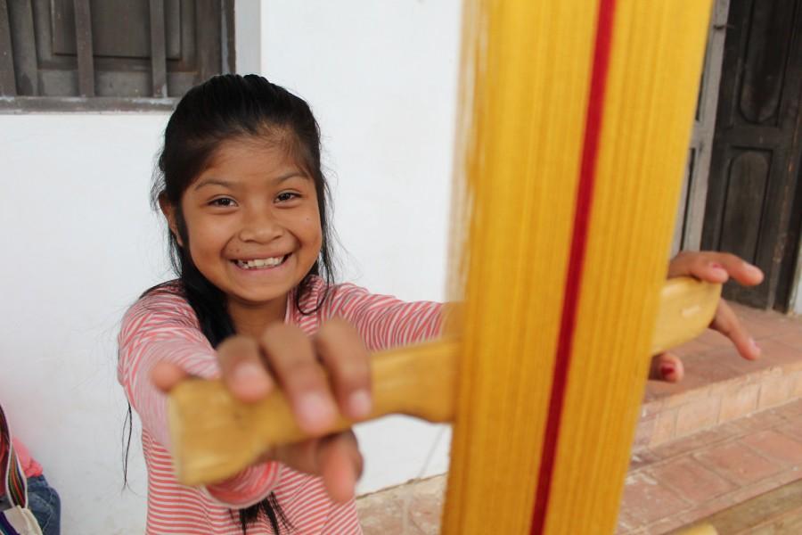 La enseñanza del textil guaraní y su importancia para el territorio