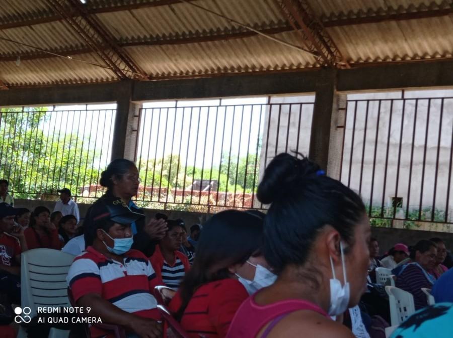 Capitanías de Machareti e Ivo, se reúnen en una magna asamblea interzonal