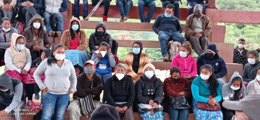 La autonomia Indigena de Huacaya aprueba  la modificación de su Estatuto Autonómico