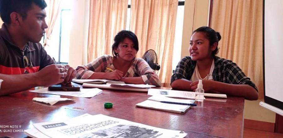 Jornadas de trabajo y equipo en el taller de elaboración de productos radiofónicos comunitarios