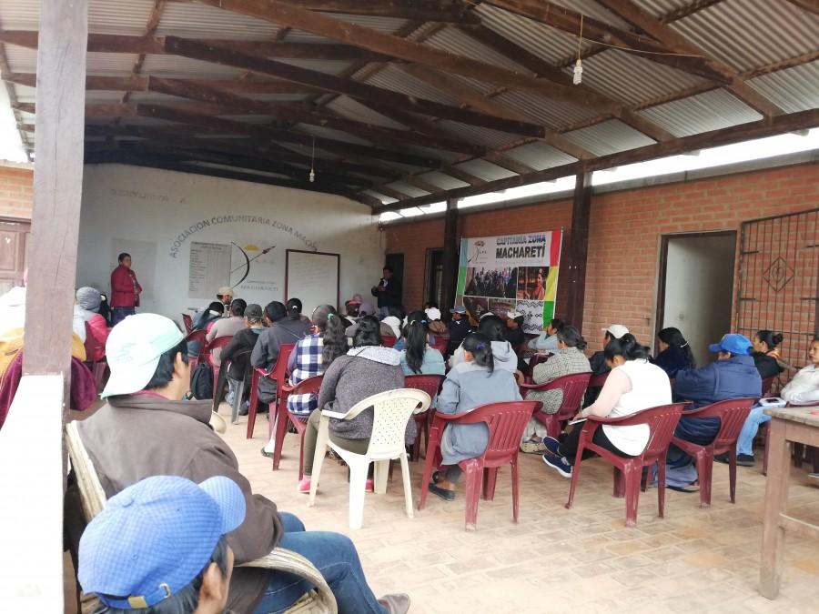 Capitanía Zona Machareti inscribe su sigla como pueblos indígena de cara a las elecciones Subnacionales 2021 y analiza candidaturas en asamblea zonal