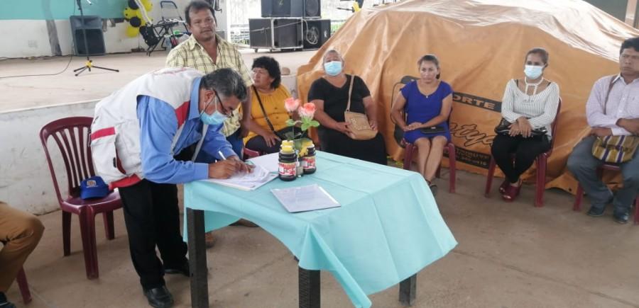 Apicultores del Municipio de Machareti, celebran  la promulgación de la Ley Apícola  en su aniversario