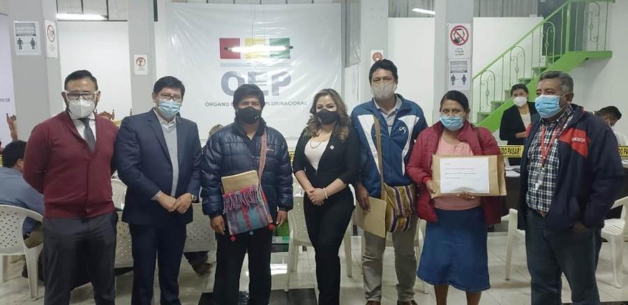 La Capitania Zona Macharetí rumbo a las elecciones Subnacionales, se inscribe  marcando un hito histórico en la democracia de Bolivia