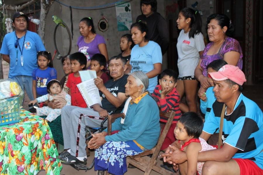 Mburuvicha Guasu Celestino Rojas Fernández, celebra su aniversario natal con  reconocimiento de su vida dirigencial