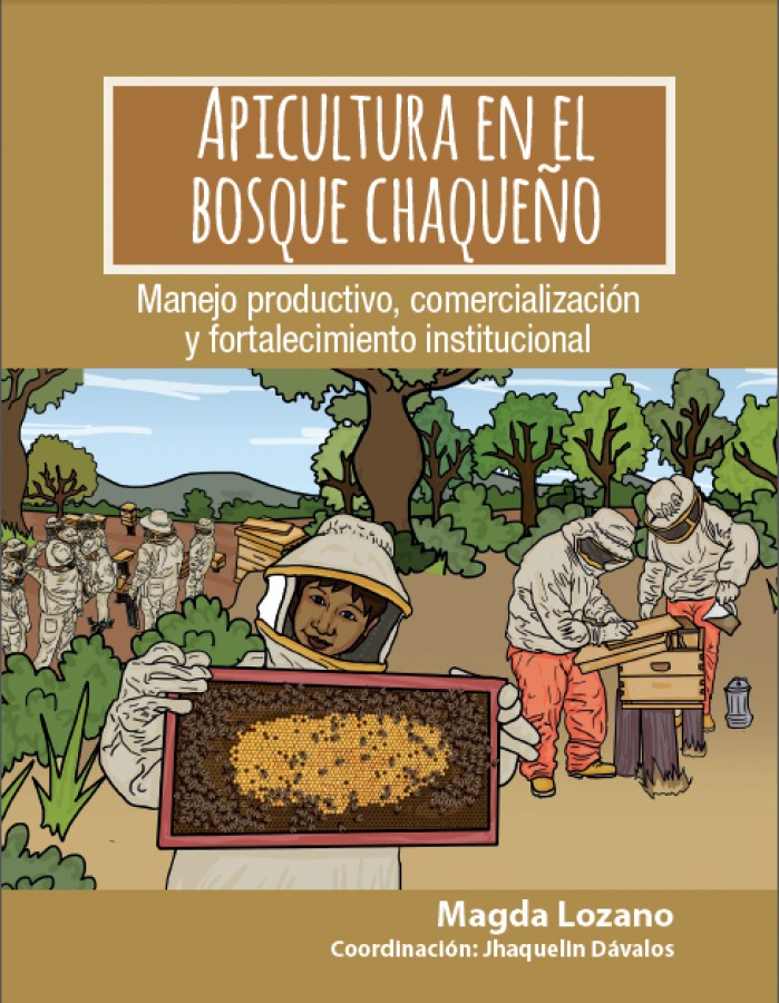 Un libro pedagógico sobre apicultura en el bosque chaqueño