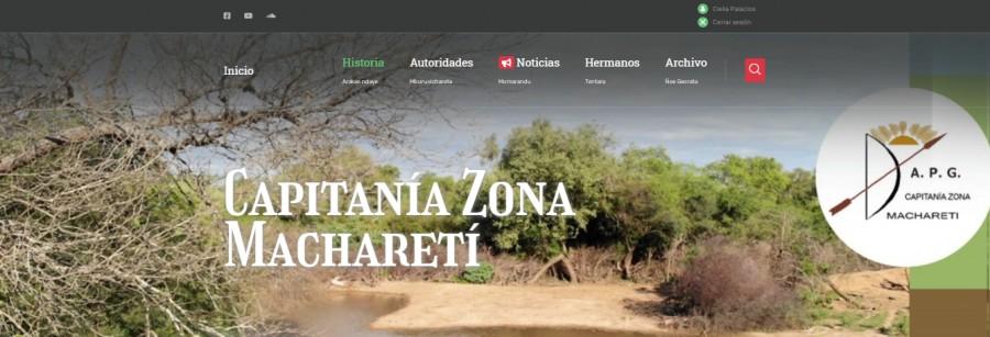 Capitania Zona Machareti renueva la web www.machareti.org