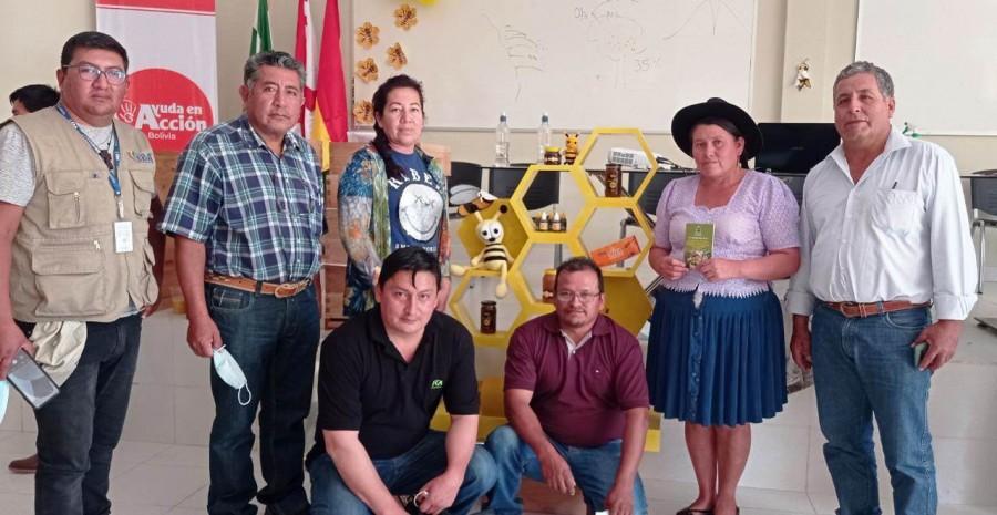 La Ley apícola de Macharetí fue socializada en el Encuentro de apicultores de la región del chaco, Monteagudo